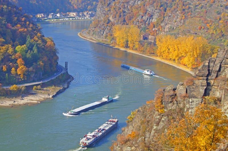 O Rhine fotografia de stock royalty free