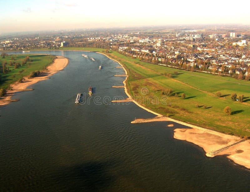 O Rhine imagem de stock