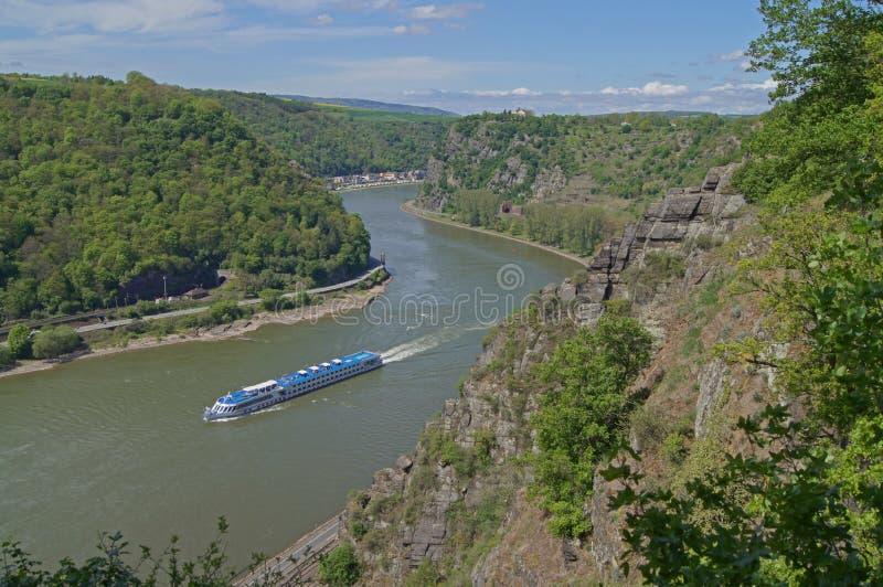 O Rhine imagens de stock