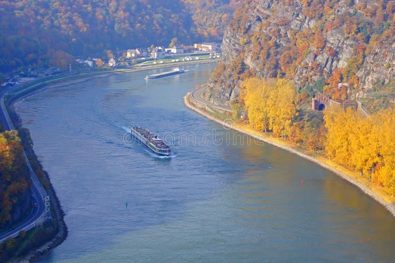 O Rhine fotos de stock royalty free