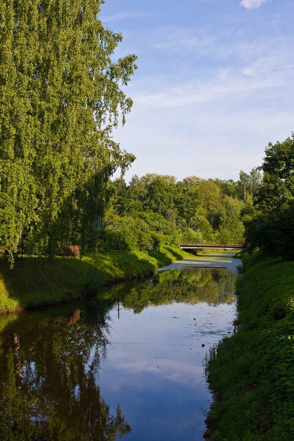 O rio Chuhonka imagens de stock royalty free