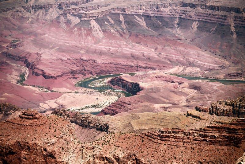 O Rio Colorado Grand Canyon o Arizona imagens de stock royalty free