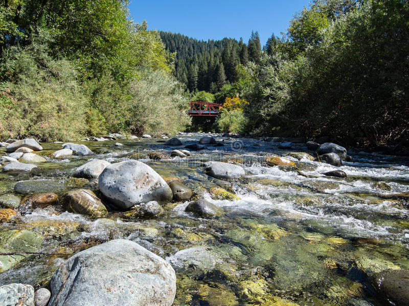 O rio de Downie fotos de stock royalty free