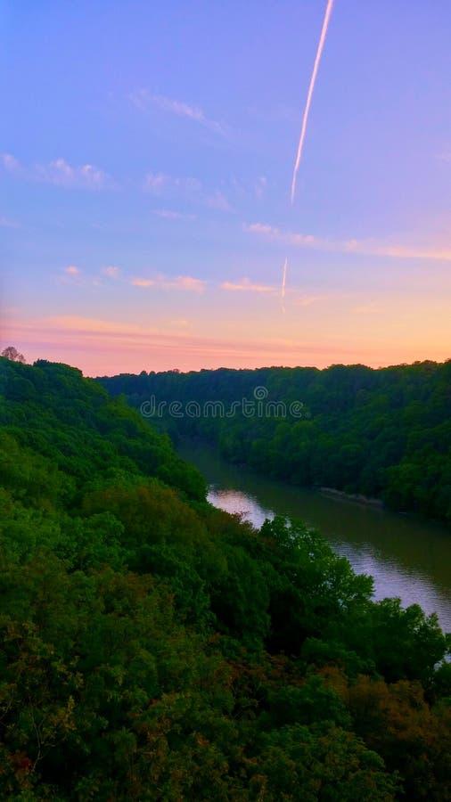 O rio de Genesee foto de stock royalty free