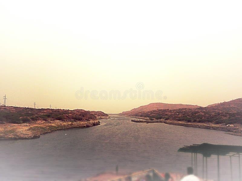 O rio de Kaylana imagens de stock