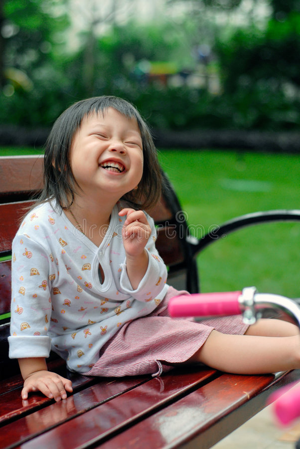 o riso da criança   imagens de stock royalty free