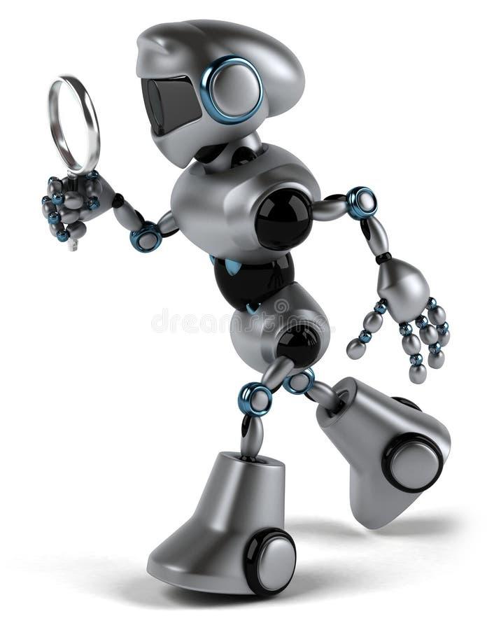 Download Robô ilustração stock. Ilustração de ciência, retro, automatização - 29847810