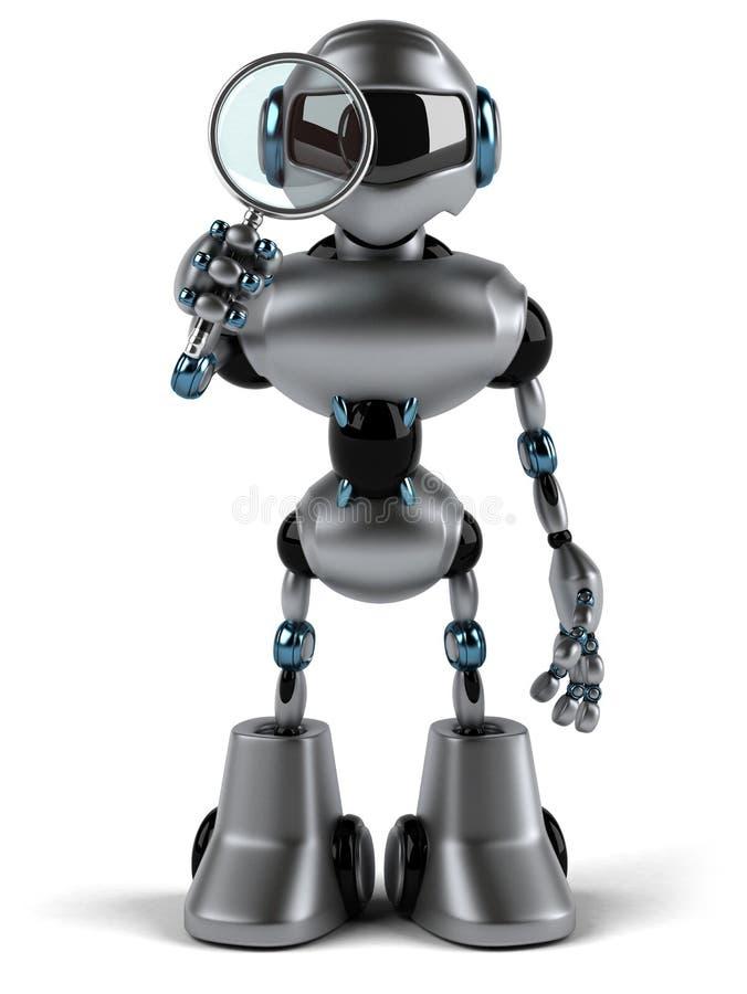 Download Robô ilustração stock. Ilustração de inteligência, robotic - 29847826