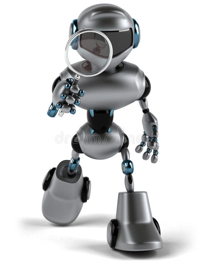 Download Robô ilustração stock. Ilustração de robotic, tecnologia - 29847828