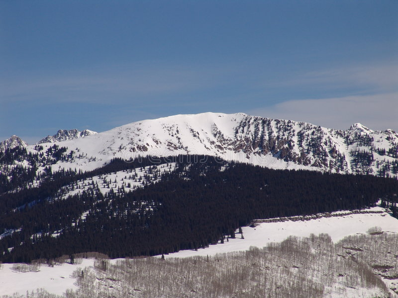Ośrodek Na Nartach Colorado Zdjęcia Royalty Free