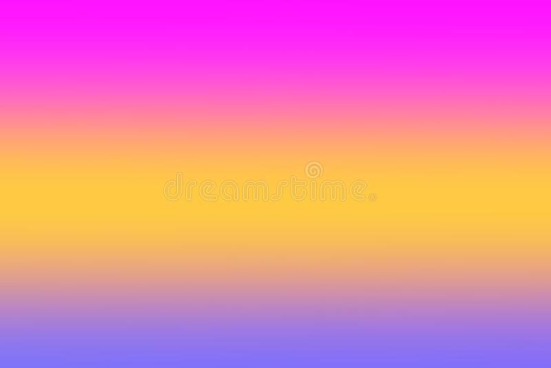 O rosa colorido do inclinação das luzes borrou a máscara colorida do papel de parede macio, doce da cor, cores do arco-íris que i imagens de stock royalty free