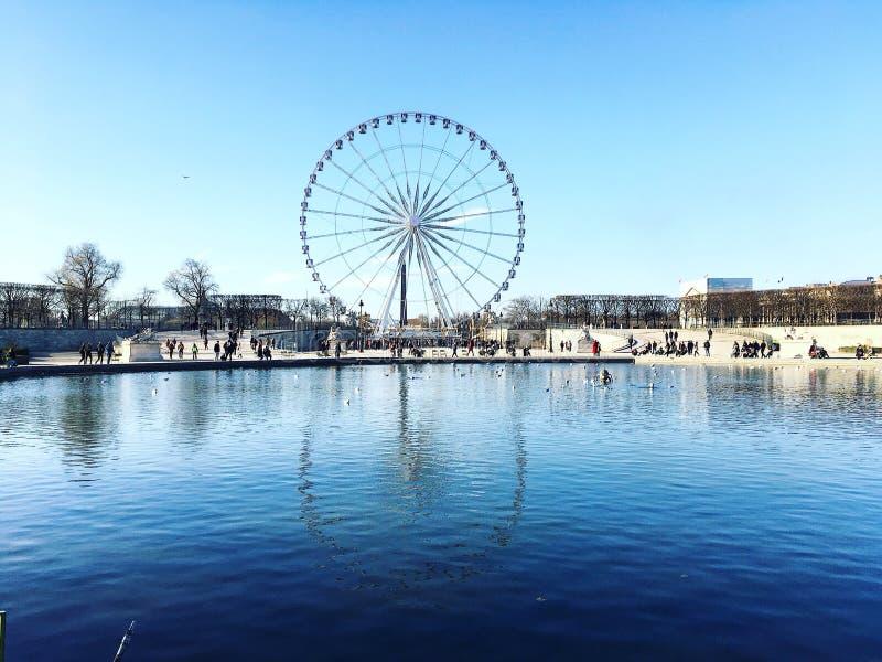 O Roue de Paris fotos de stock royalty free