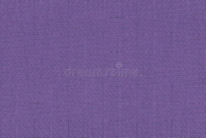O roxo real pintou a amostra de folha, superfície da pilha da tela para a capa do livro, elemento de linho do projeto, textura do ilustração stock