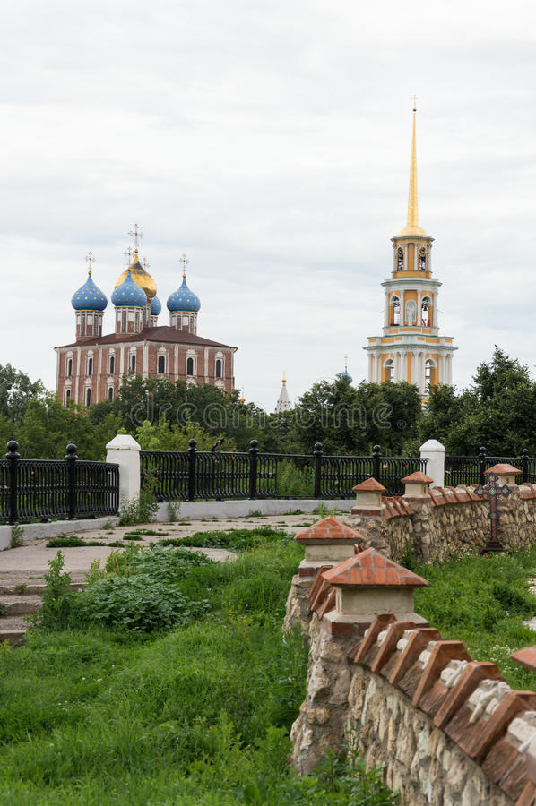 O Ryazan Kremlin imagem de stock royalty free