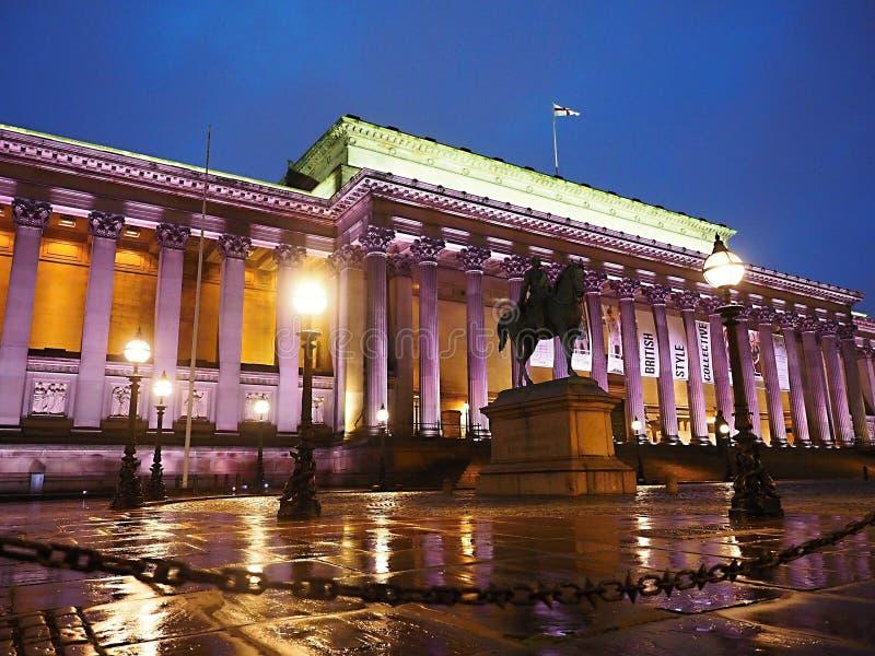 O Salão - o Liverpool de St George fotos de stock royalty free