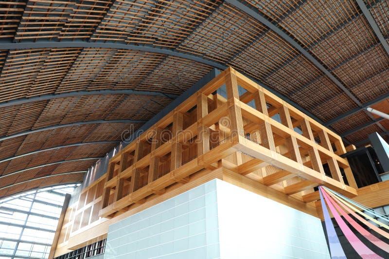 o salão no Museu Nacional de Kyushu fotos de stock royalty free