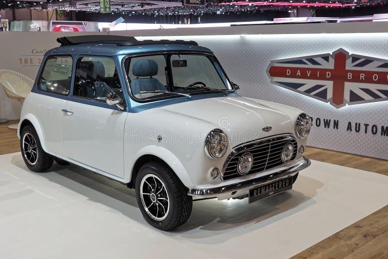 89.o salón del automóvil internacional de Ginebra - David Brown Automotive - Mini Remastered fotos de archivo libres de regalías