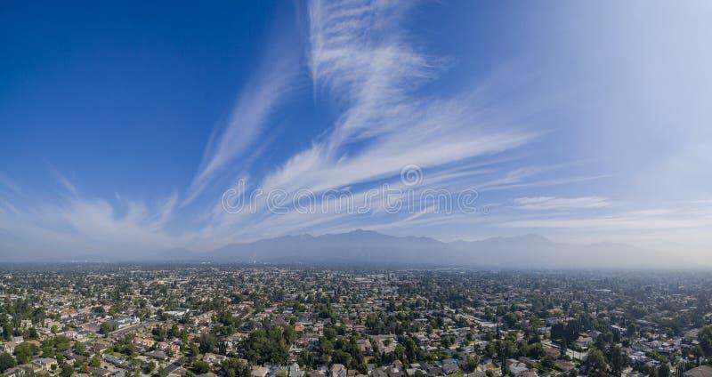 O San bonito Gabriel Mountains, Los Angeles, U S A imagens de stock