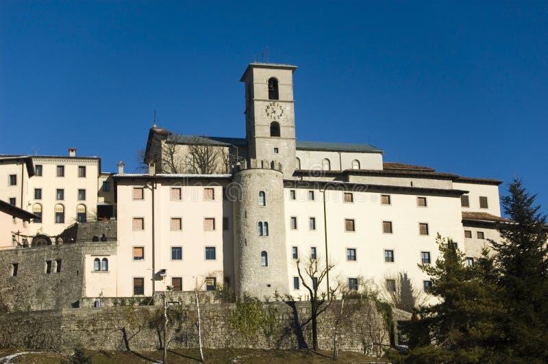 O santuário de Castelmonte imagem de stock royalty free