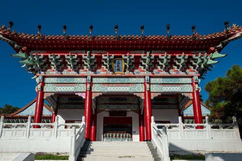 O santuário dos mártir em Hualien, Taiwan fotografia de stock