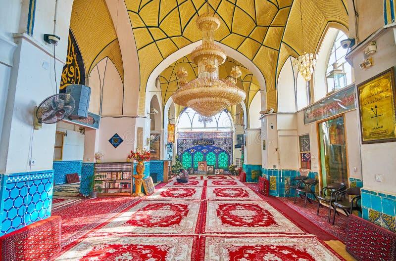 O santuário velho em Kashan, Irã fotos de stock royalty free