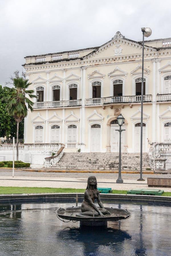 O Sao Luis da fonte de Iracema faz Maranhao Brasil fotografia de stock