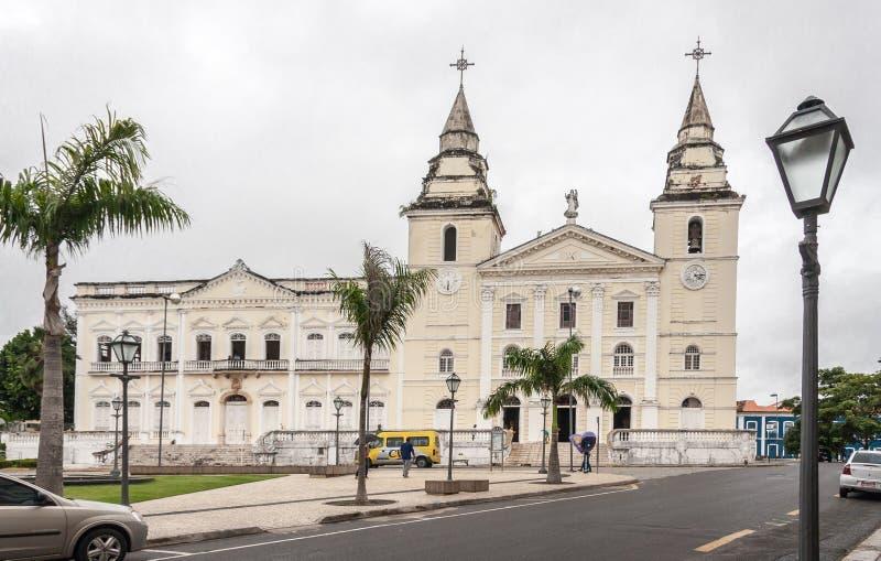 O Sao Luis da igreja do SE faz Maranhao Brasil fotos de stock