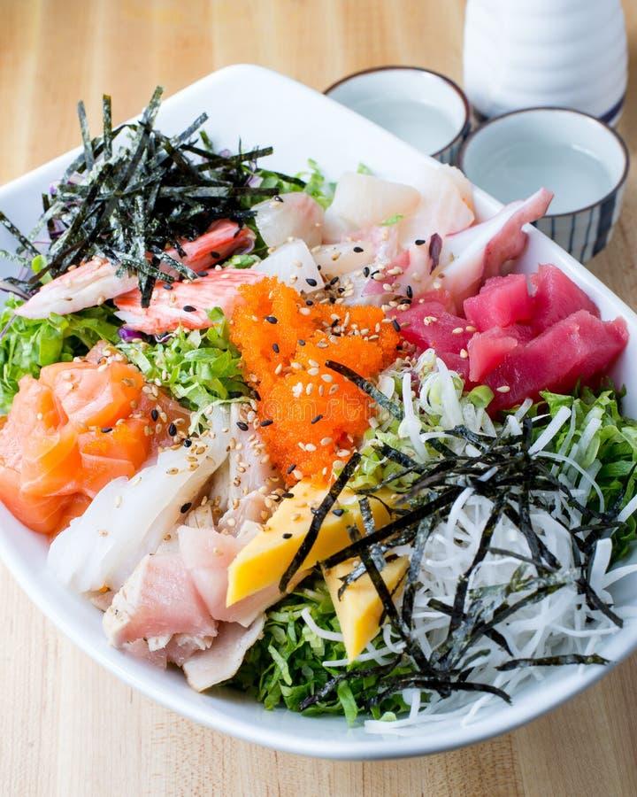O Sashimi don com causa foto de stock royalty free