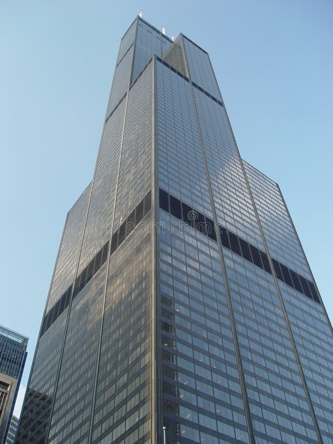 O Sears Tower foto de stock royalty free