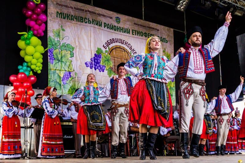 O segundo festival étnico Bobovischenske Grono foi realizado em Zaka imagem de stock royalty free