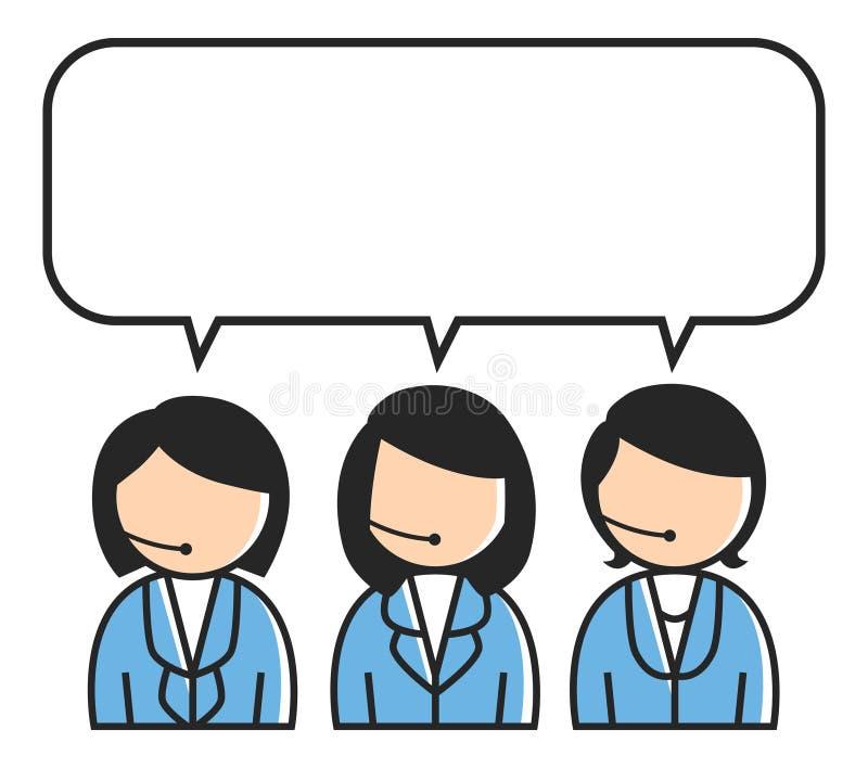 Download Serviço ao cliente ilustração stock. Ilustração de escritório - 29826661