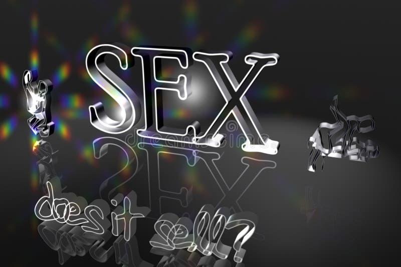 O sexo vende? ilustração stock