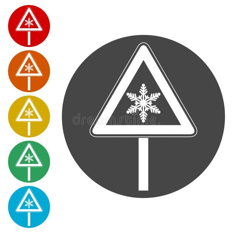 O sinal de tráfego, neva adiante sinal de tráfego ilustração royalty free