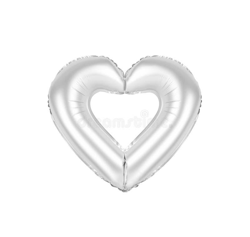 O sinal do coração, croma a cor cinzenta fotos de stock