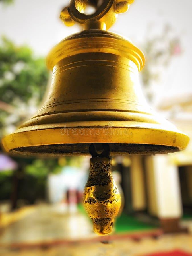 O sino do templo, som mágico do sensetional imagem de stock royalty free