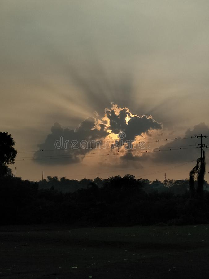 O sol fotos de stock