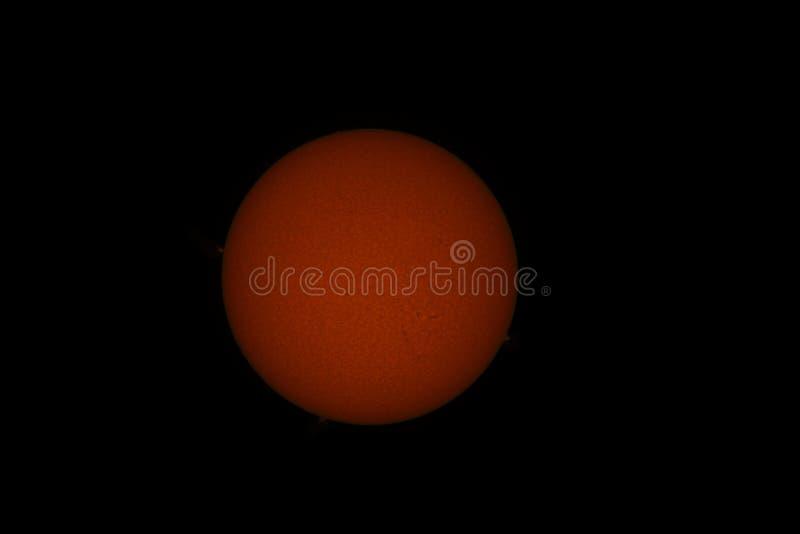 O sol Estrela fotografia de stock