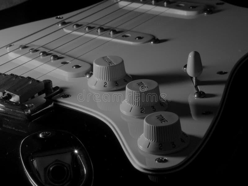 O som de seis cordas fotografia de stock