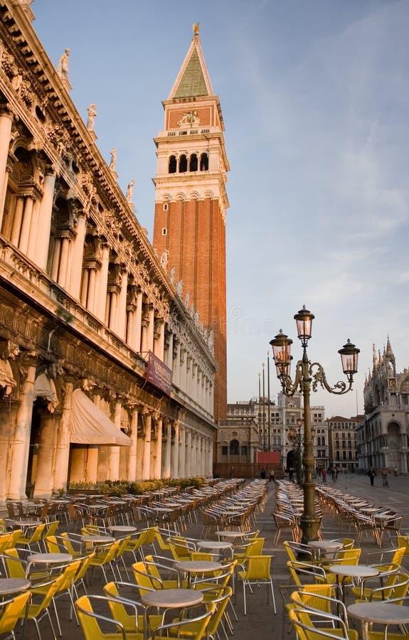 O St marca o quadrado, Veneza fotos de stock royalty free