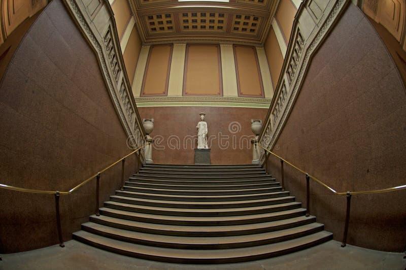 O Stairway de mármore foto de stock
