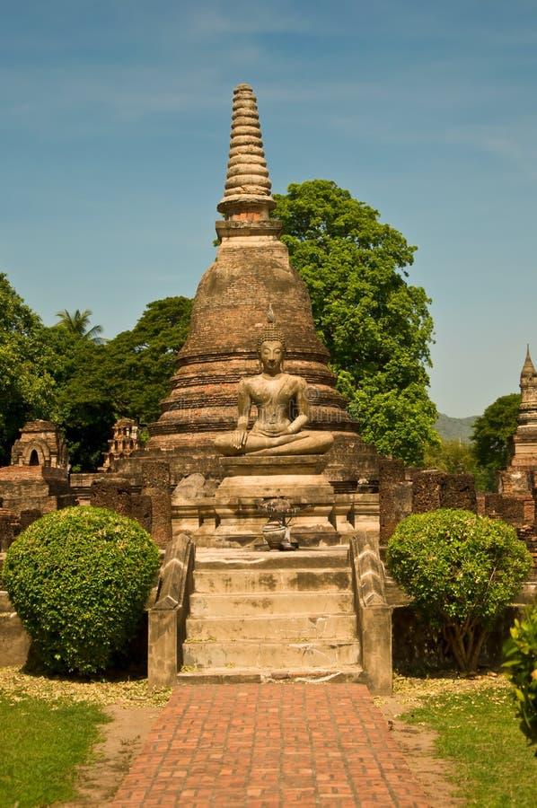 O status de Buddha fotos de stock
