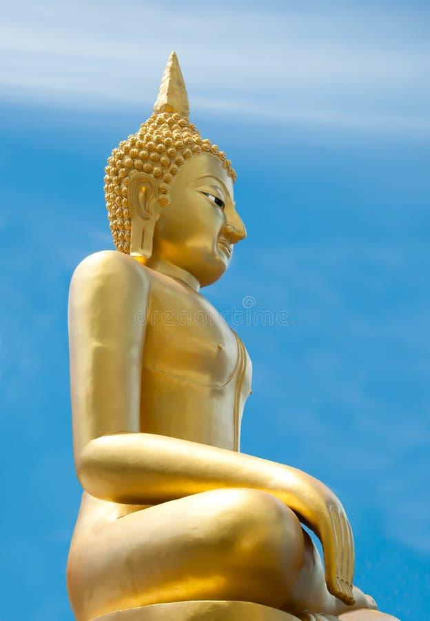 O status de Buddha foto de stock