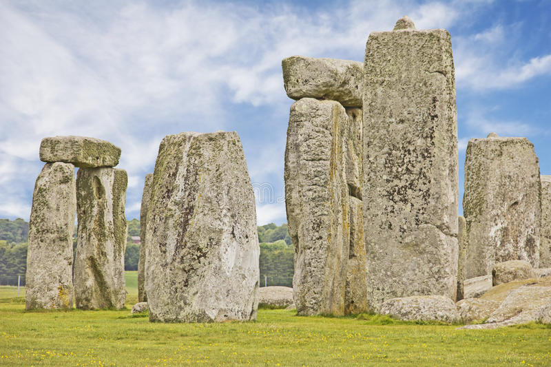 O Stonehenge imagem de stock royalty free