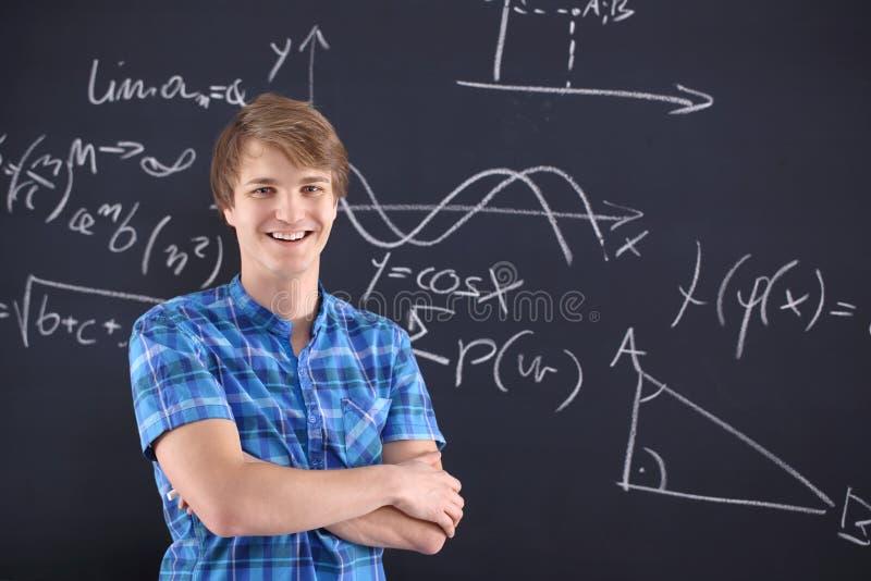 O sucesso da escola, estudante dotado. imagens de stock royalty free
