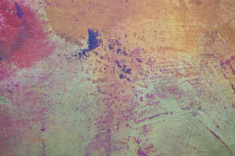 O sumário, grunge, desvaneceu-se parede pintada imagem de stock
