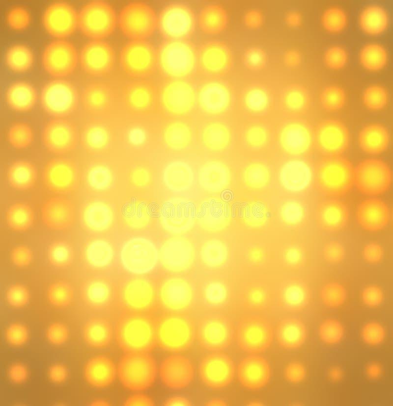 O sumário ilumina o fundo imagens de stock royalty free
