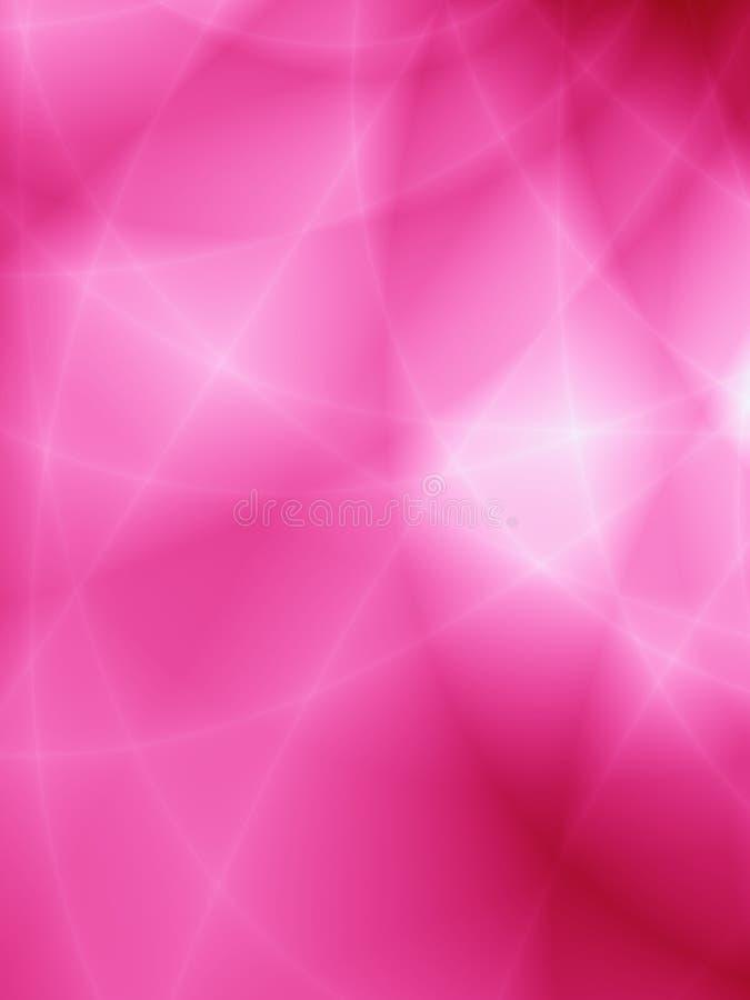 O sumário luxuoso da ilustração estourou o fundo cor-de-rosa ilustração stock