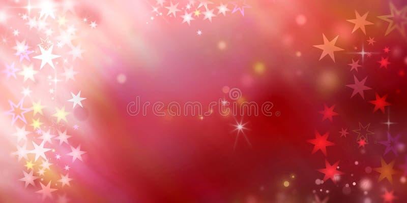 O sumário stars o fundo ilustração royalty free