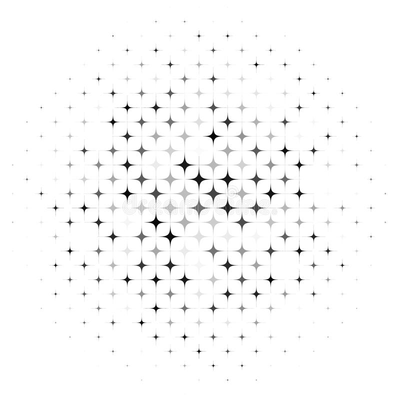 O sumário Stars o fundo ilustração do vetor