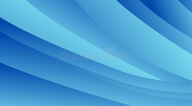 O sum?rio borrou o fundo azul com m?scaras diferentes da cor ilustração royalty free